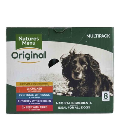 Natures Menu Multipack Dog Pouches 8x300g