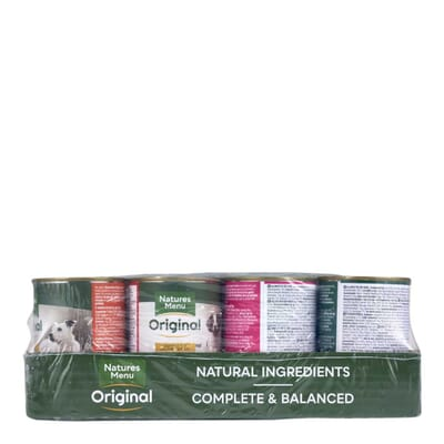 Natures Menu Multipack Cans for Dogs 12x400g