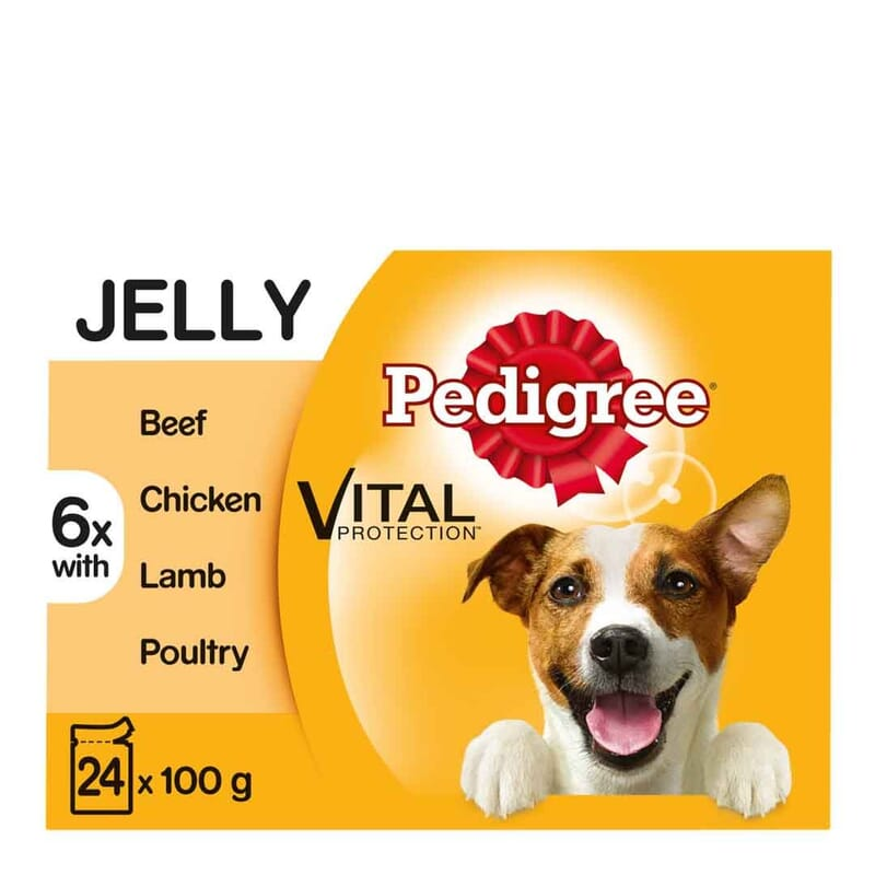 Pedigree Pouch in Jelly Favourites 24 x 100g