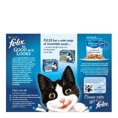 Felix As Good As It Looks Pouch Favourites Selection Multipack 12x100g