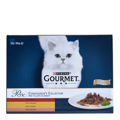 Gourmet Perle Connoisseurs Collection Pouch Multipack 12x85g