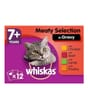 Whiskas Pouch Senior in Gravy Meat Selection 12x100g