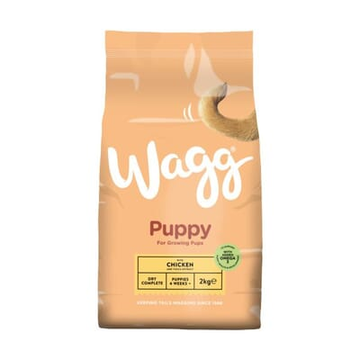 Wagg Complete Puppy Food with Chicken & Veg