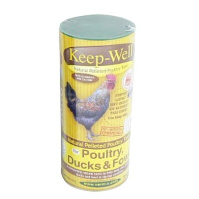 Keep-Well Pellets For Poultry, Ducks & Fowl 250g