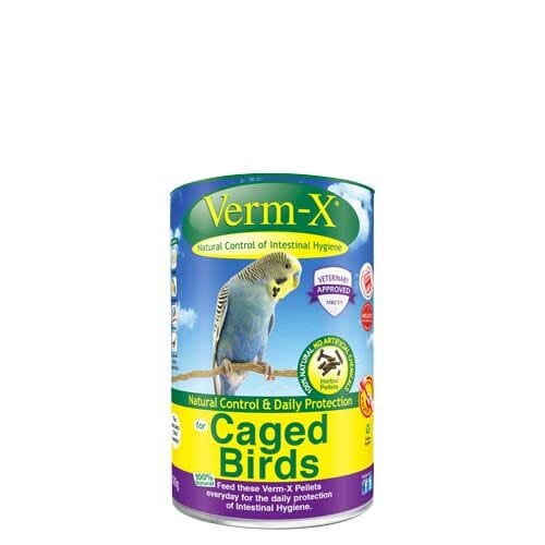 Verm-X Pellets for Caged Birds
