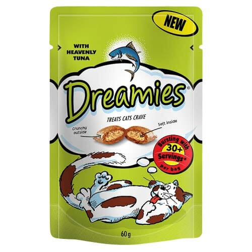 Dreamies Pouch with Heavenly Tuna 60g