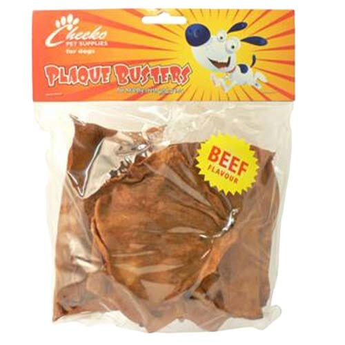 Plaque Buster Chips Beef 250g